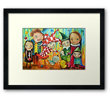 Friends Of The Prince Framed Print