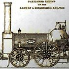 Bury Type Passenger Locomotive circa 1840 by Dennis Melling