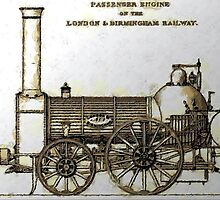 Bury Type Passenger Locomotive circa 1840 by Dennis Melling