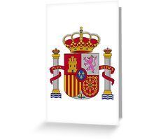 Coat of Arms of Spain (1981-) Greeting Card