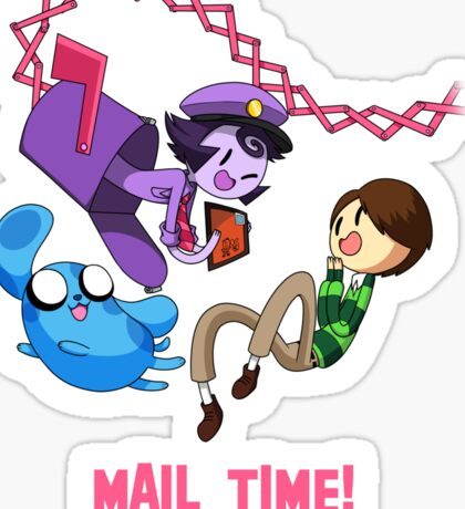Mail Time Sticker