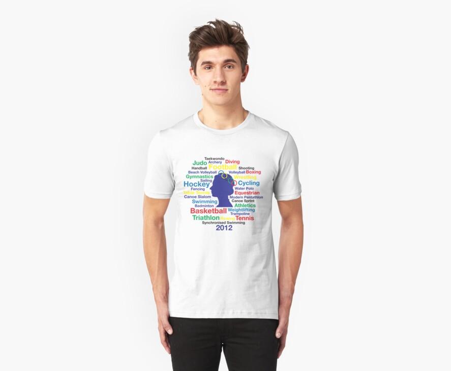 Queen Elizabeth London 2012 T-shirt by ethnographics
