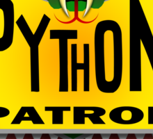 Python Patrol Sticker