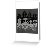 ROBOT CITY! Greeting Card