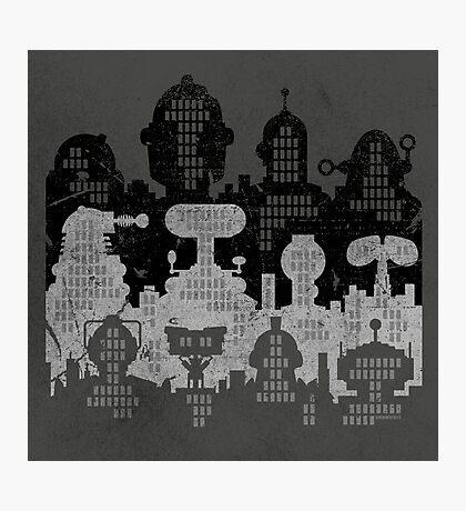 ROBOT CITY! Photographic Print