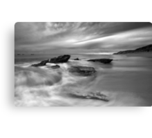 Winter in Slow Motion Canvas Print