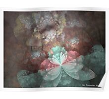 DAINTY BLOSSOMS Poster