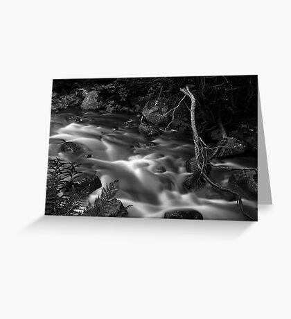 Flowing water 2 Greeting Card