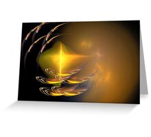 Fractal ..... Consciousness Greeting Card