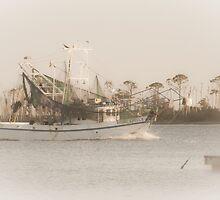 Shrimp Boat  by Jonicool