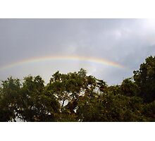 Neighborhood rainbow Photographic Print