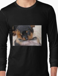 """Puppy Porn ....""""The Bitches"""" Long Sleeve T-Shirt"""