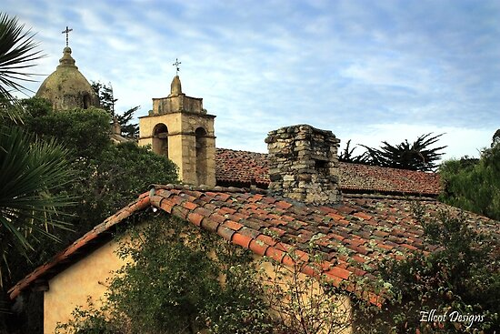 Carmel Mission by Ellen Cotton