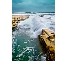 Overrun with Water Photographic Print
