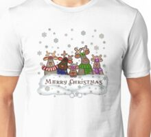 Will Work For Santa Reindeers Merry Christmas Cofee Mug Unisex T-Shirt