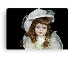 Vintage Doll Canvas Print