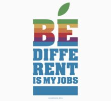 be different is my jobs by eccetera