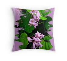 Lily of the Valley - In The Pink #1 Throw Pillow