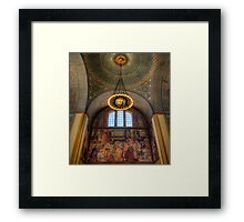 LA Library Framed Print
