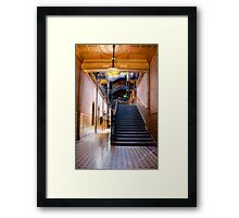 Bradbury Building Entrance Framed Print