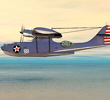Consolidated PBY Catalina by Walter Colvin