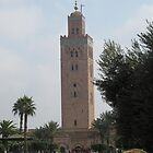 Koutoubia Mosque in the main square, Marrakech by TedT