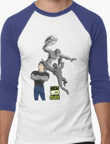 Ben 10 Alien Force: Kevin T-Shirt Men's Baseball ¾ T-Shirt