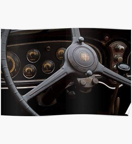 1932 Cadillac Dash Poster