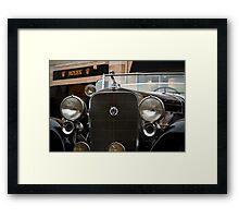 Cadillac V12 Framed Print