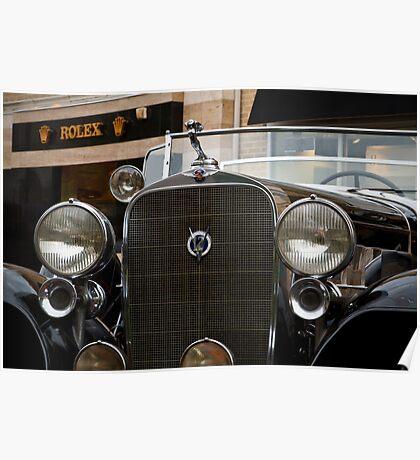 Cadillac V12 Poster
