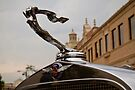1932 Cadillac Hood Ornament by dlhedberg