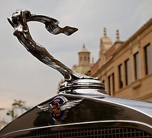 1932 Cadillac Hood Ornament by dlhedberg
