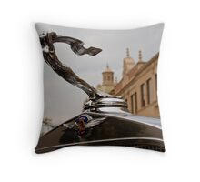 1932 Cadillac Hood Ornament Throw Pillow