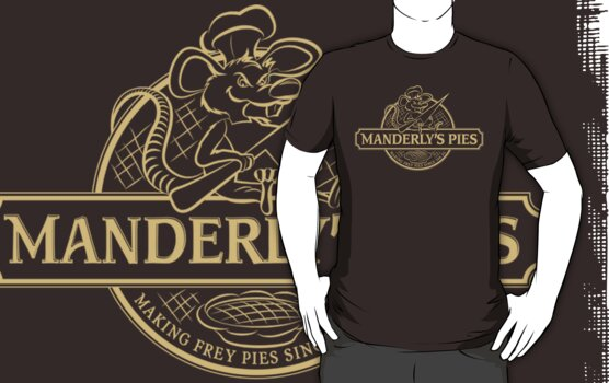 Manderly's Pies (in tan) by JenSnow