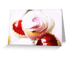 Pink Cupcake Greeting Card