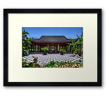Chinese Tea Building Framed Print