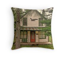 Old post office Throw Pillow