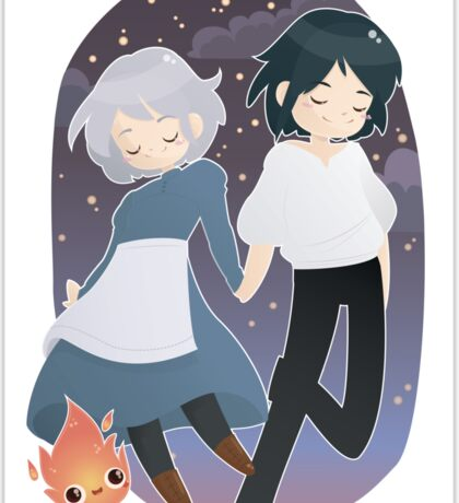 Sophie & Howl Sticker