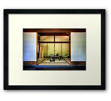 Japanese Dining Room Framed Print
