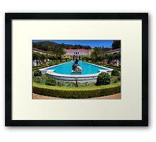 Getty Villa Building Framed Print