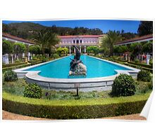Getty Villa Building Poster