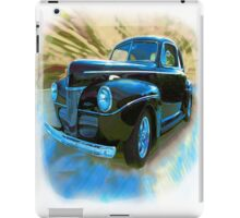 In The Days Of Great Style iPad Case/Skin