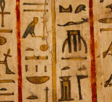 Egypt hieroglyphs Sticker