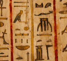 Egypt hieroglyphs Sticker
