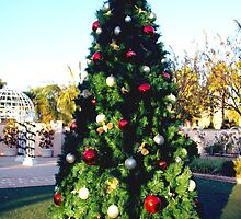 Garden Christmas tree by ♥⊱ B. Randi Bailey