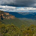 Three Sisters Panorama by Anton Gorlin