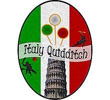 Italy Quidditch Photographic Print