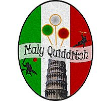 Italy Quidditch Photographic Print