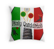 Italy Quidditch Throw Pillow