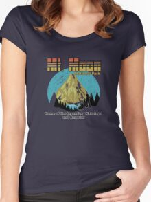 Mt Moon National Park Women's Fitted Scoop T-Shirt